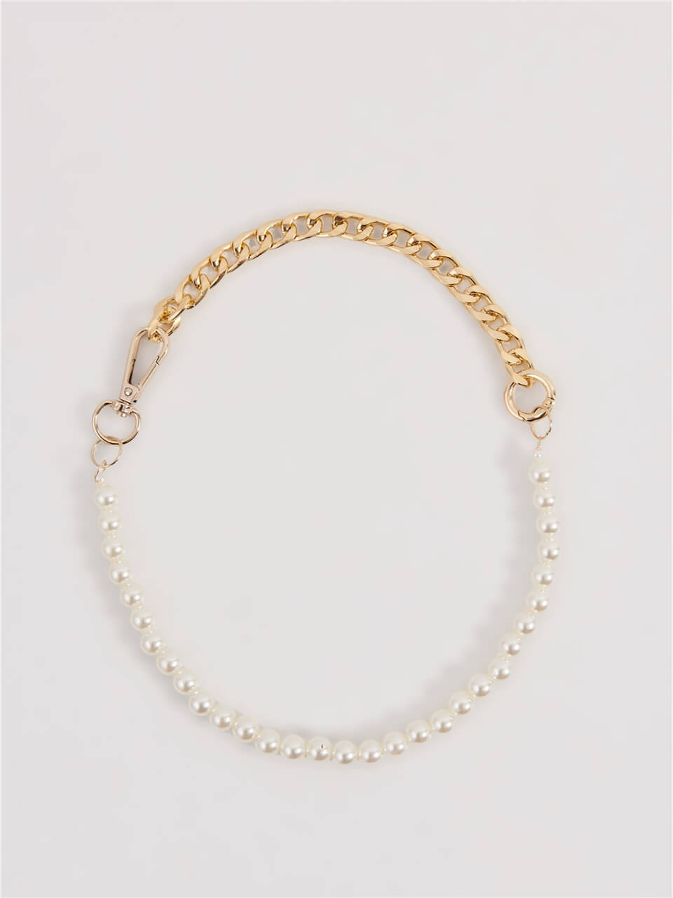Pearl Detailed Gold Necklace